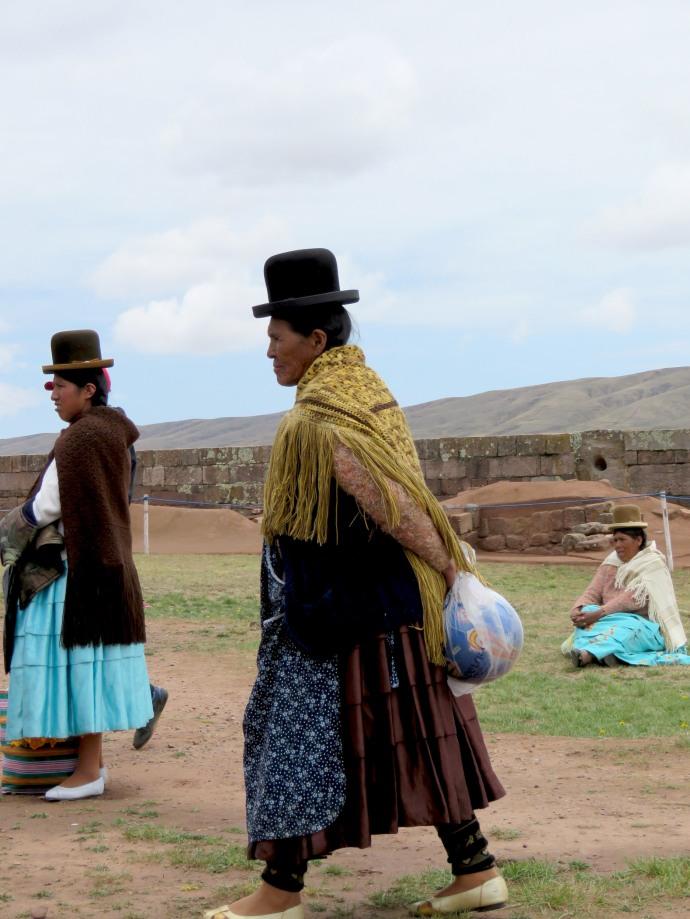 Aymara at Tiahuanaco