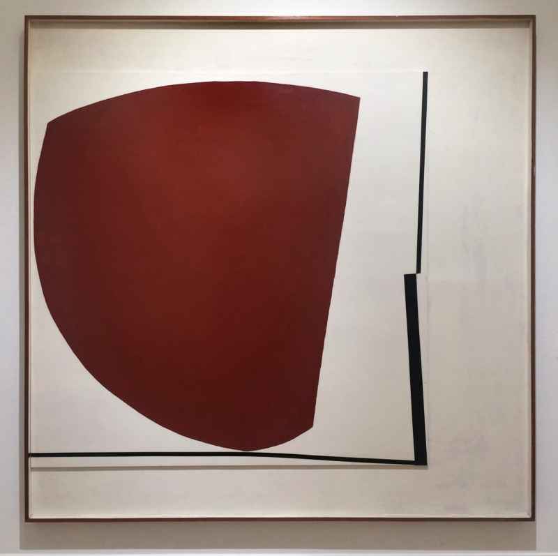 Victor Pasmore, Red Abstract No5, 1960