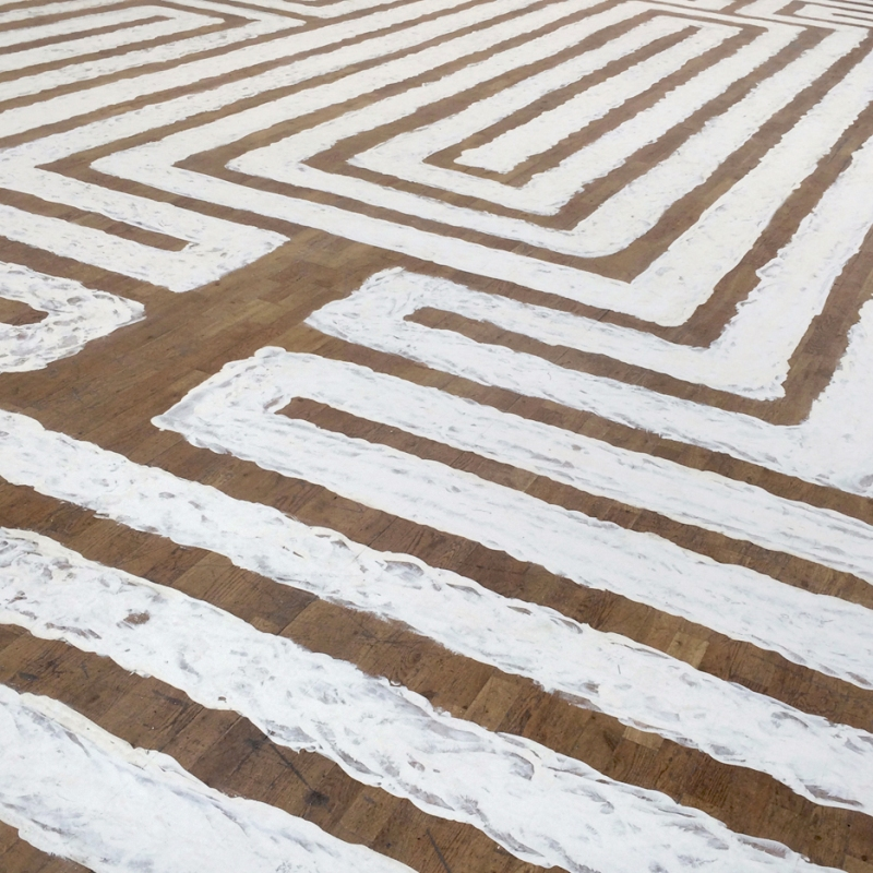 richard-long-walking-a-labyrinth-1971-modern-art-oxford