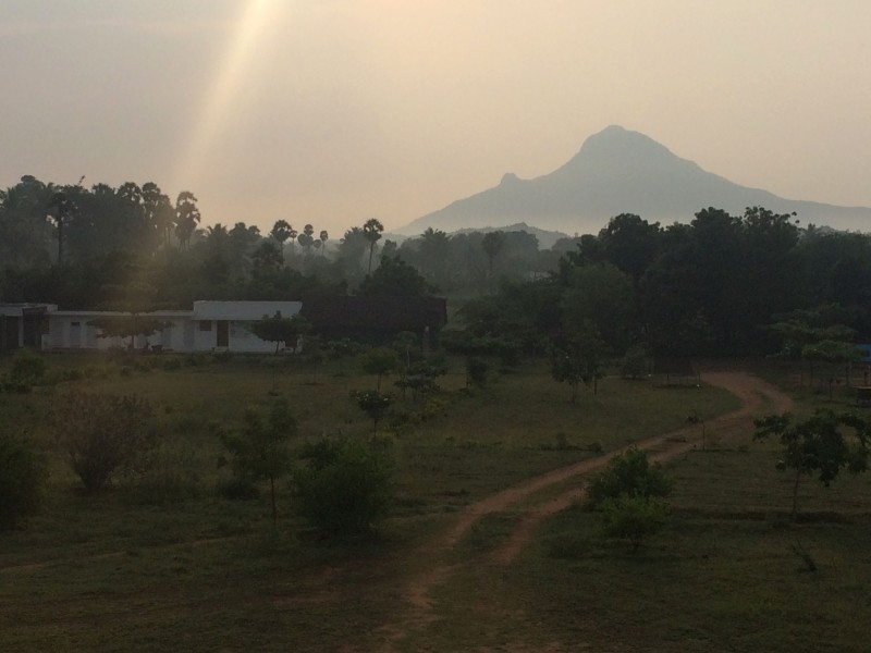 ARUNACHALA MIST AT DAWN